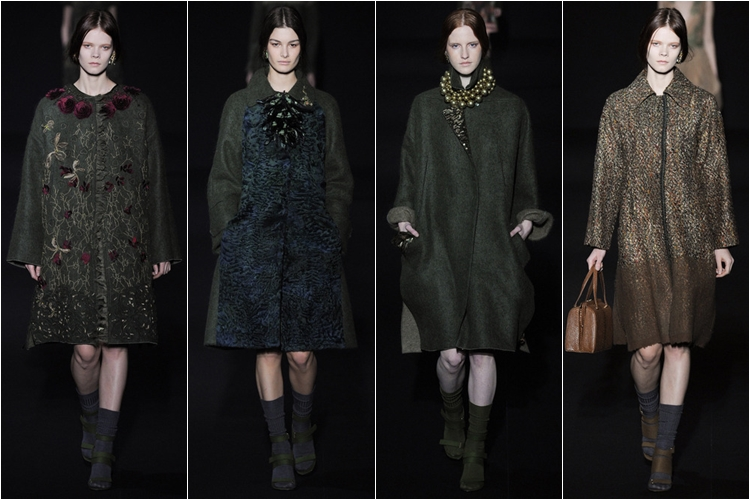 пальто коллекция alberta ferretti осень-зима 2014-2015 (1)