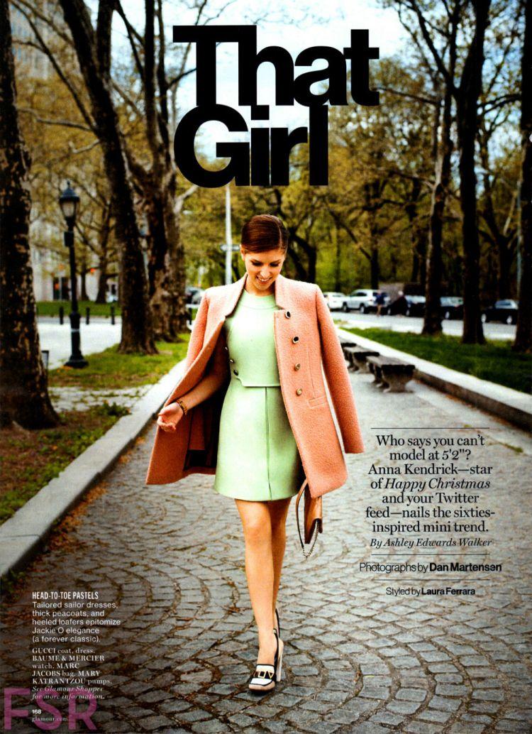фотосессия анны кендрик для glamour us august 2014