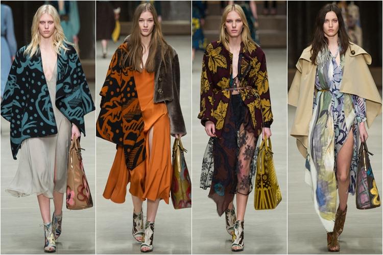 верхняя одежда коллекция Burberry Prorsum осень-зима 2014-2015