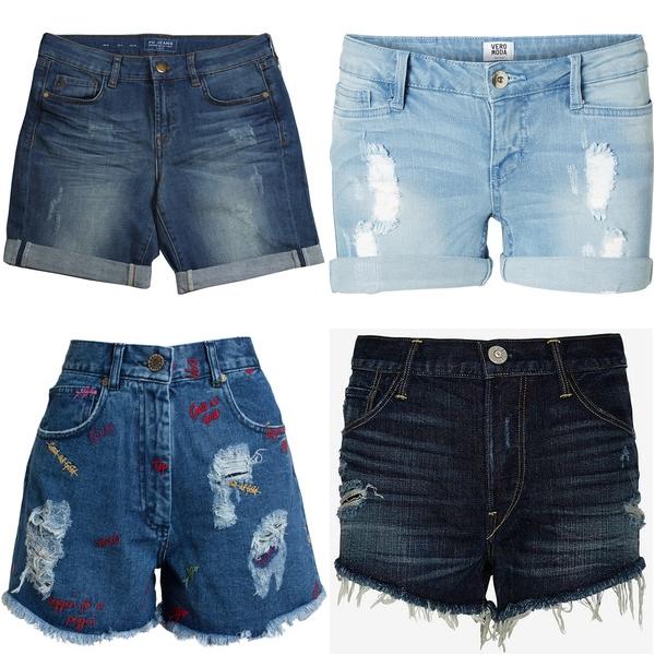 джинсовые шорты купить в интернет-магазине