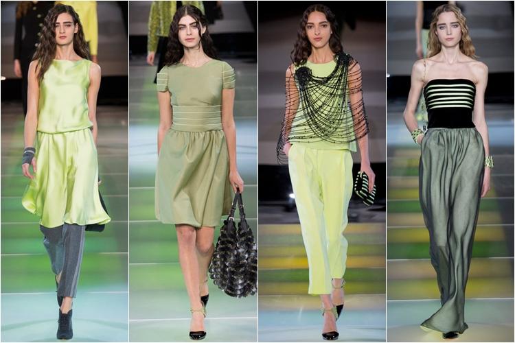 Коллекция платьев от армани