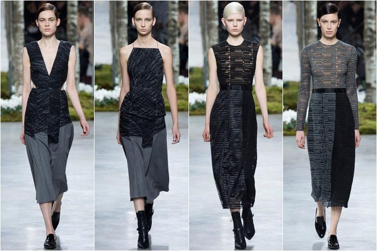 платья и юбки коллекция hugo boss осень-зима 2014-2015