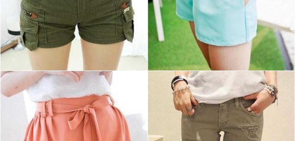 Летние женские шорты (фото): где купить и с чем носить