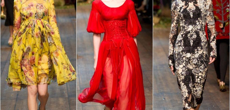 Dolce&Gabbana осень-зима 2014-2015