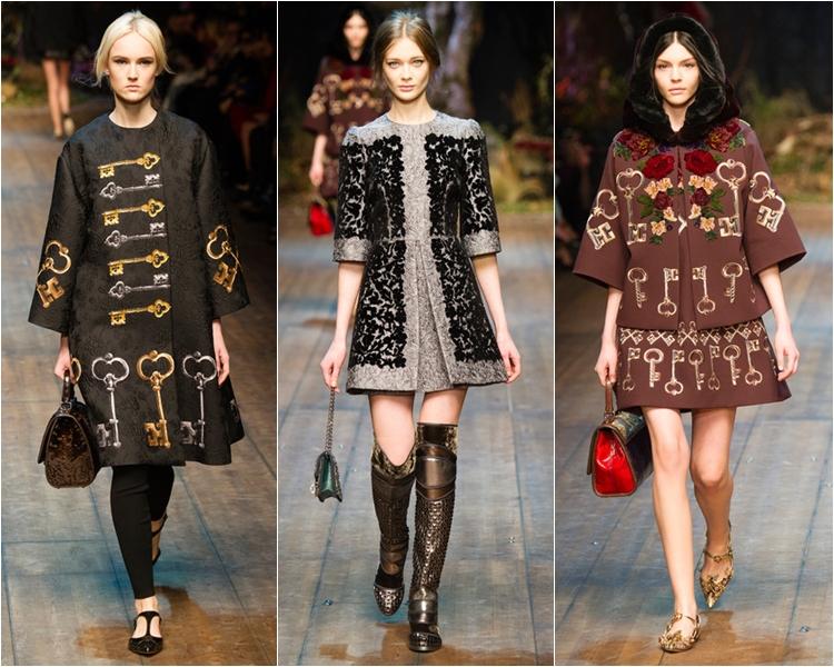 Коллекция Dolce&Gabbana осень-зима 2014-2015
