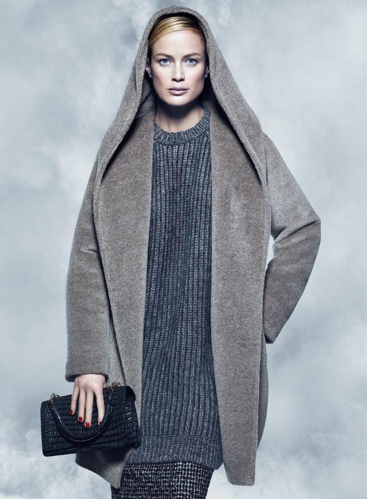 кэролин мерфи в рекламной кампании max mara осень-зима 2014-2015