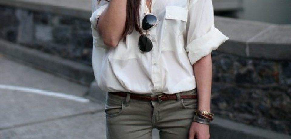 Купить белую рубашку в интернет-магазине