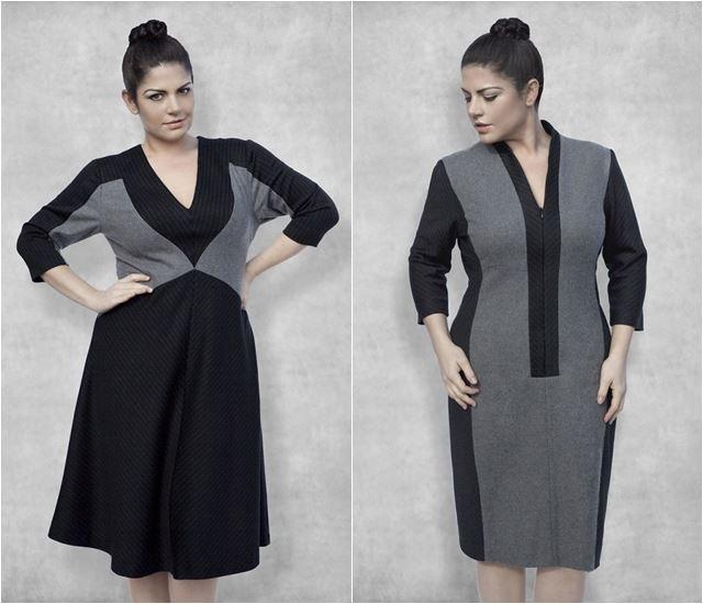 платья которые стройнят 2014-2015 Dea London