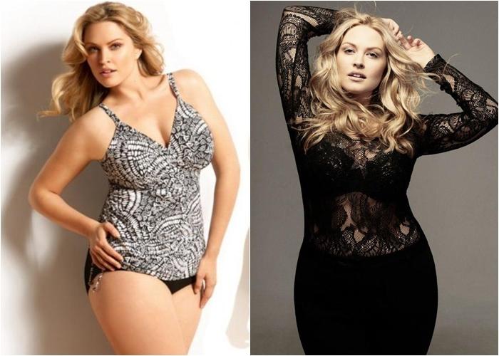 Полные женщины модели жюстин лего
