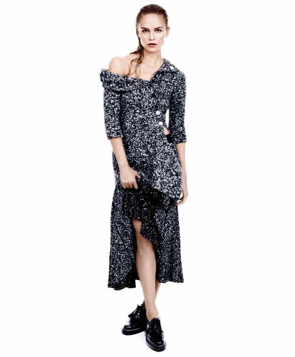 Наташа Поли в фотосессии Дэниэла Джексона для Herper's Bazaar сентябрь 2014