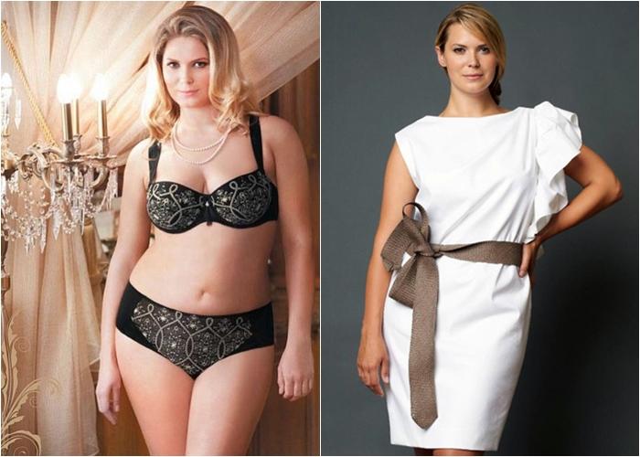 Полные женщины модели Катя Жаркова