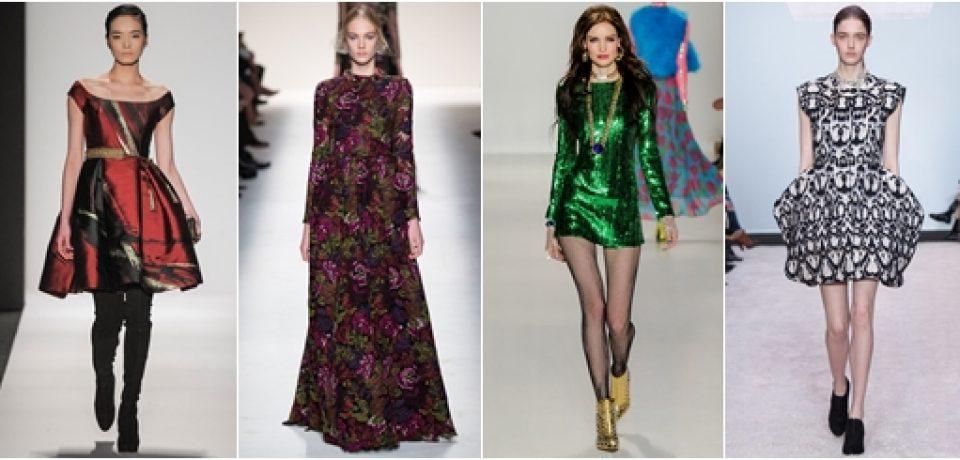 Коллекции платьев осень-зима 2014-2015
