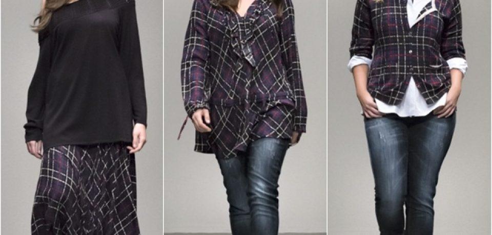 Рубашки, куртки и трикотаж для полных осень-зима 2014-2015 Marina Rinaldi