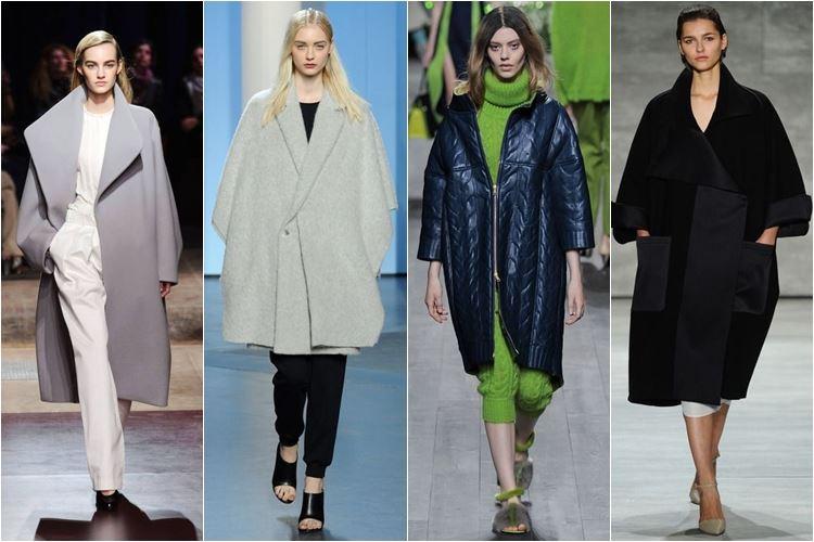 объемные пальто xxl осень-зима 2014-2015