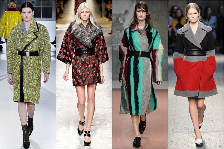 пальто кимоно осень-зима 2014-2015