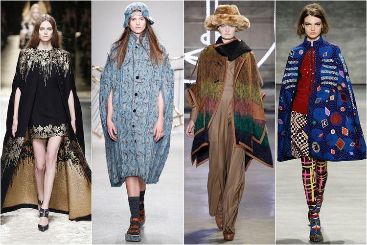 пальто-кейпы осень-зима 2014-2015