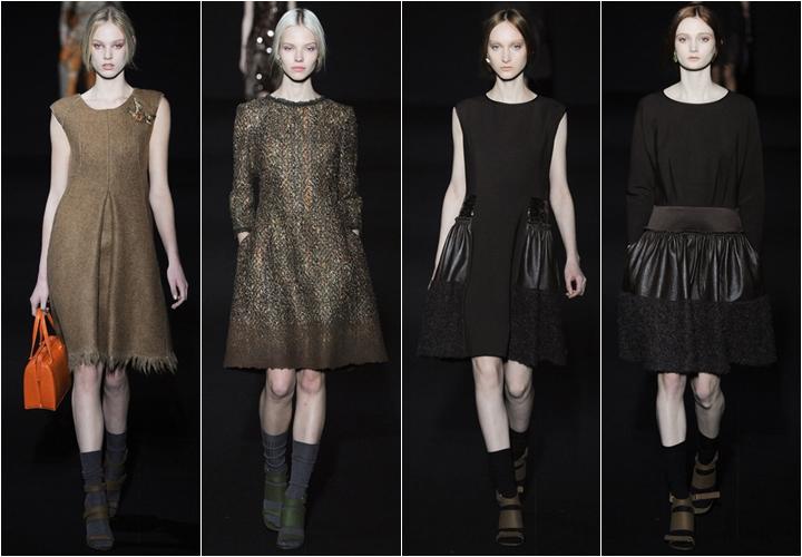 коллекция платьев alberta ferretto осень-зима 2014-2015
