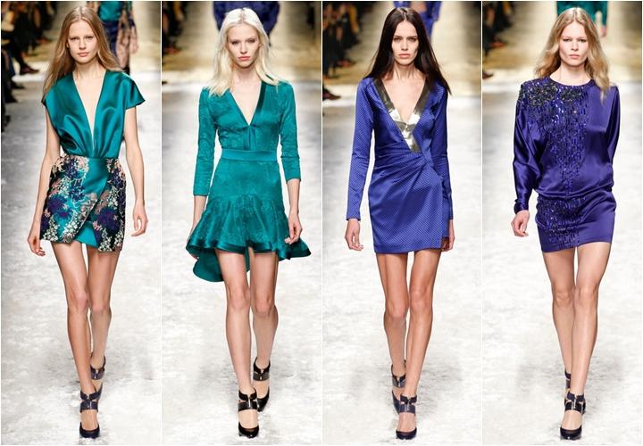 коллекция платьев blumarine осень-зима 2014-2015