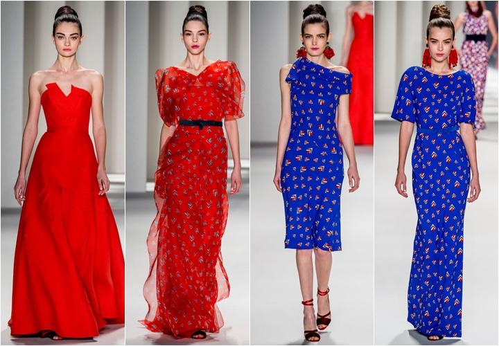 коллекция платьяв carolina herrera осень-зима 2014-2015