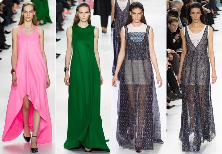 коллекция платьев christian dior осень-зима 2014-2015