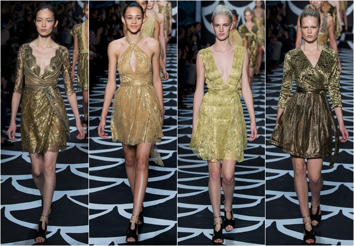 коллекция платьев diane von furstenberg осень-зима 2014-2015