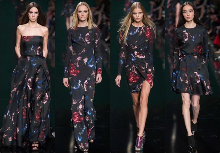 коллекция платьев elie saab осень-зима 2014-2015