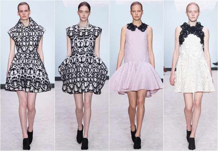 коллекция платьев giambattista valli осень-зима 2014-2015
