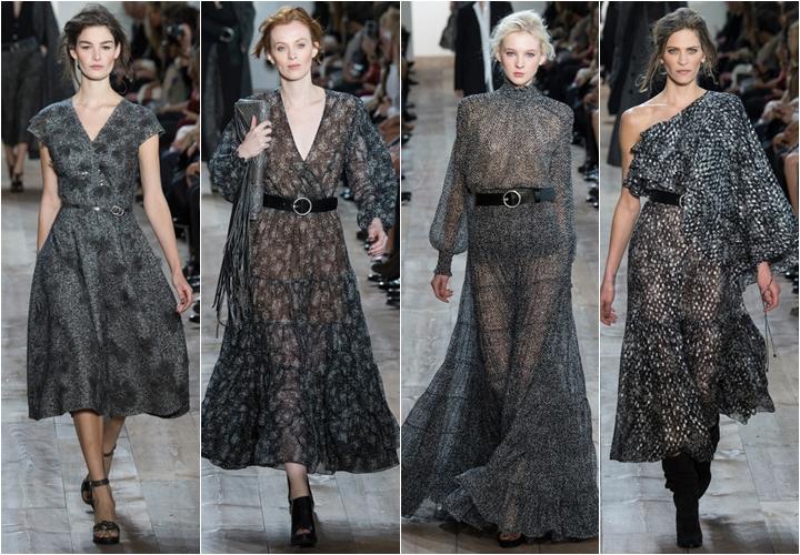 коллекция платьев michael kors осень-зима 2014-2015