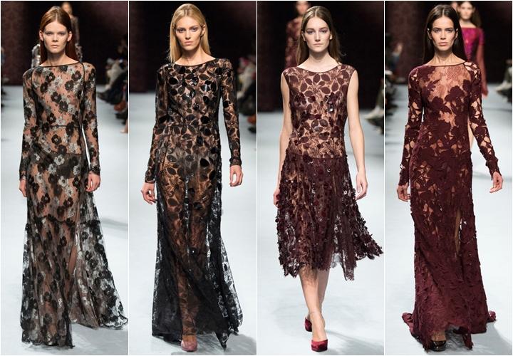 коллекция платьев nina ricci осень-зима 2014-2015