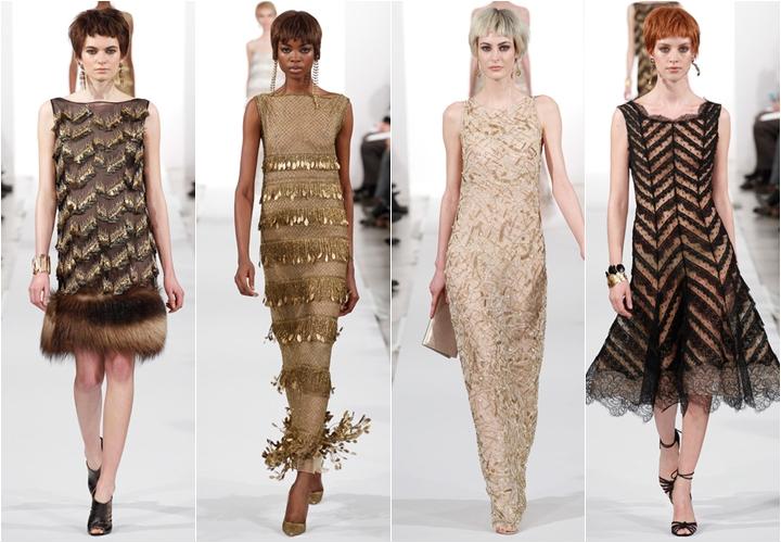 коллекция платьев oscar de la renta осень-зима 2014-2015