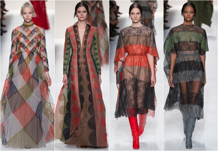коллекция платьев valentino осень-зима 2014-2015