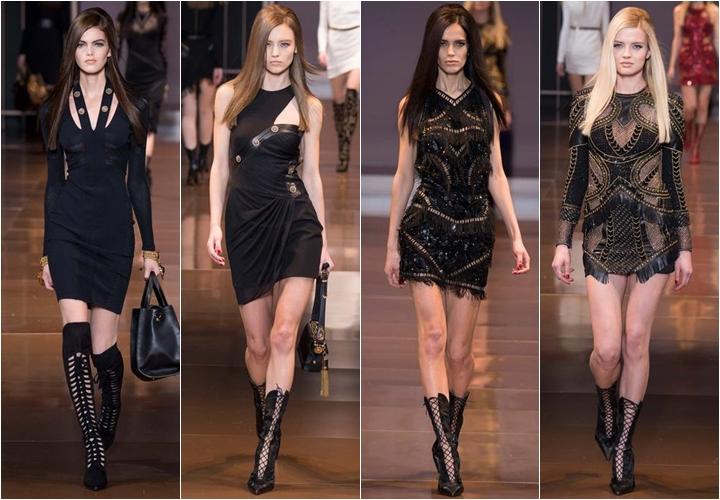 коллекция платьев versace осень-зима 2014-2015
