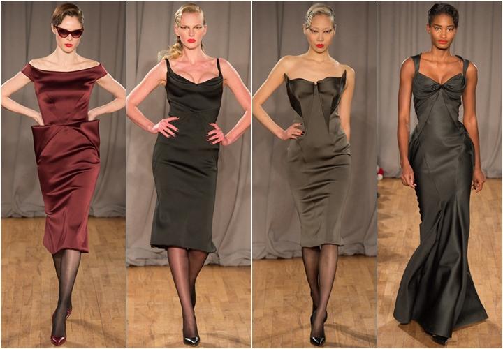 коллекция платьев zac posen осень-зима 2014-2015
