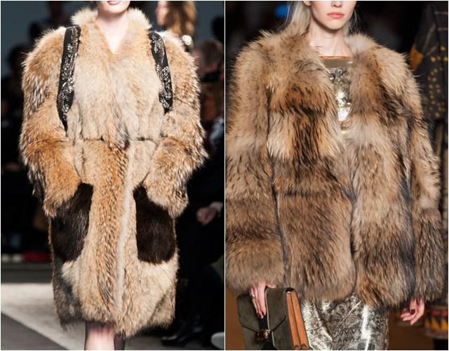 этнический стиль меховых пальто и шуб осень-зима 2014-2015