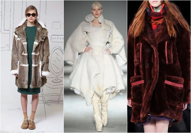 меховые куртки осень-зима 2014-2015