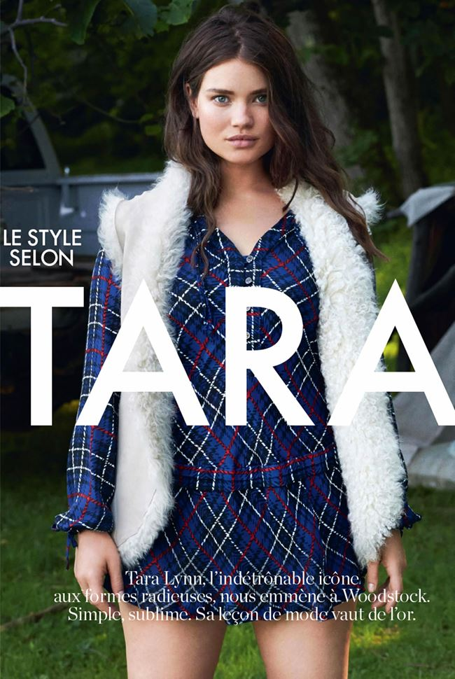 Модель plus size Тара Линн  в интервью  Elle France (август 2014)