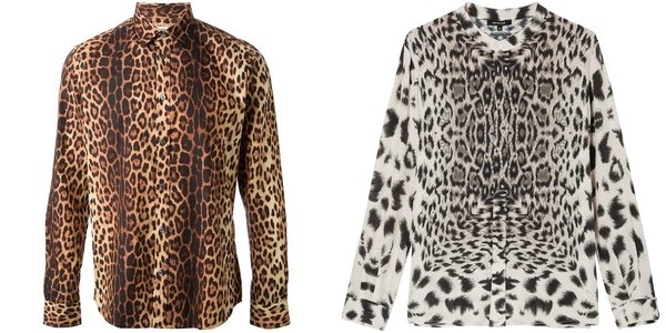 Блузки и рубашки с анималистическим принтом осень-зима 2014-2015