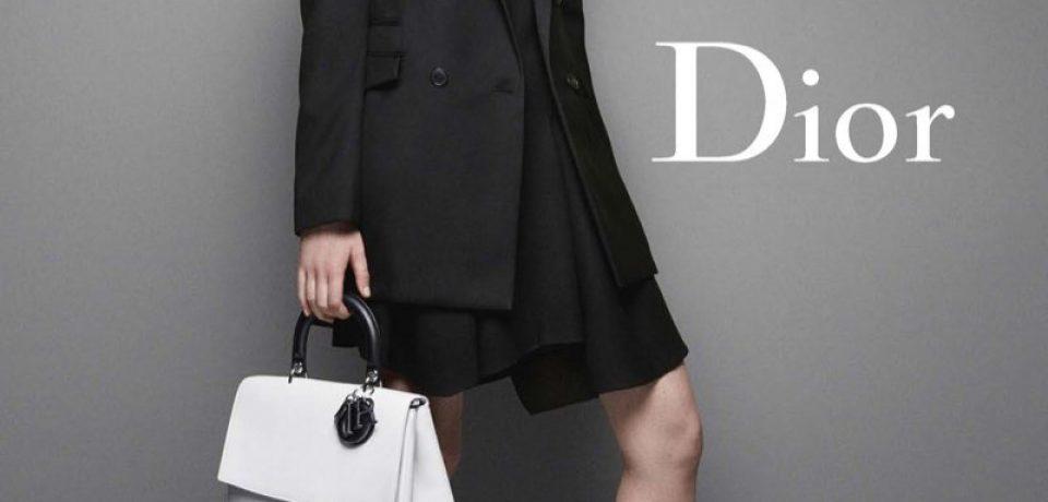 Дженнифер Лоуренс в рекламе сумок Miss Dior осень-зима 2014-2015