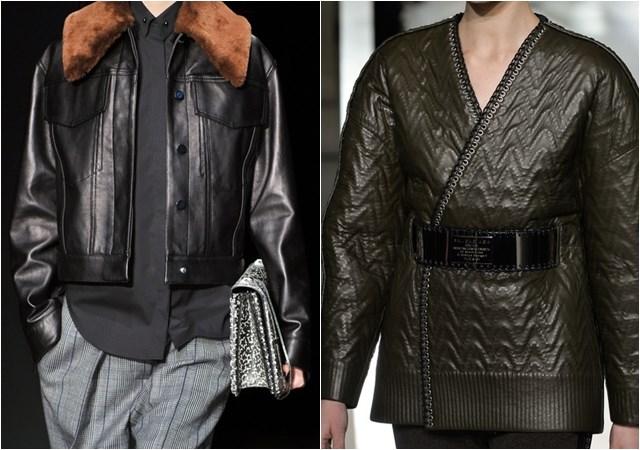 женские куртки из кожи осень-зима 2014-2015
