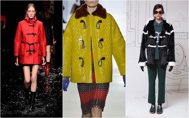 женские куртки даффлкот осень-зима 2014-2015