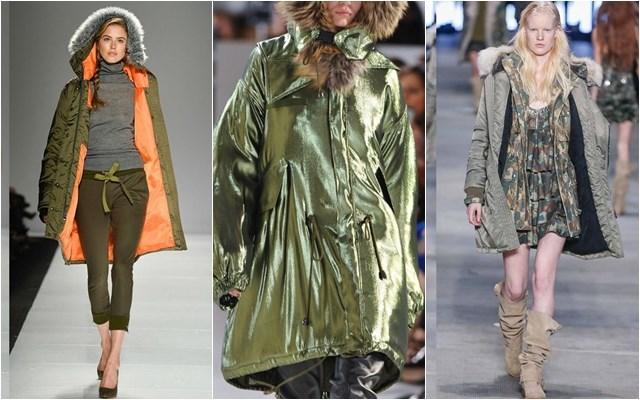 женские куртки парки осень-зима 2014-2015