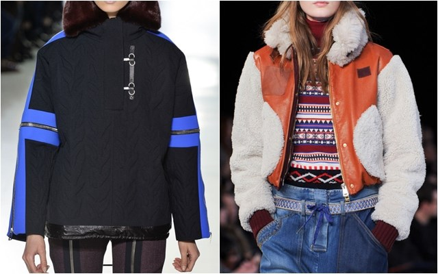 женские спортивные куртки осень-зима 2014-2015
