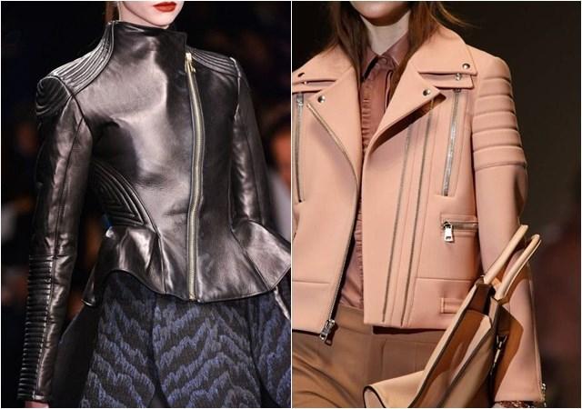 женские куртки-косухи осень-зима 2014-2015