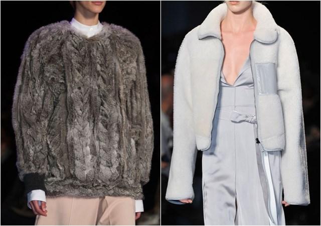 женские меховые куртки осень-зима 2014-2015