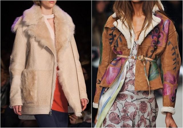 женские куртки дубленки осень-зима 2014-2015