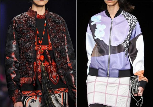 женские куртки бомберы осень-зима 2014-2015