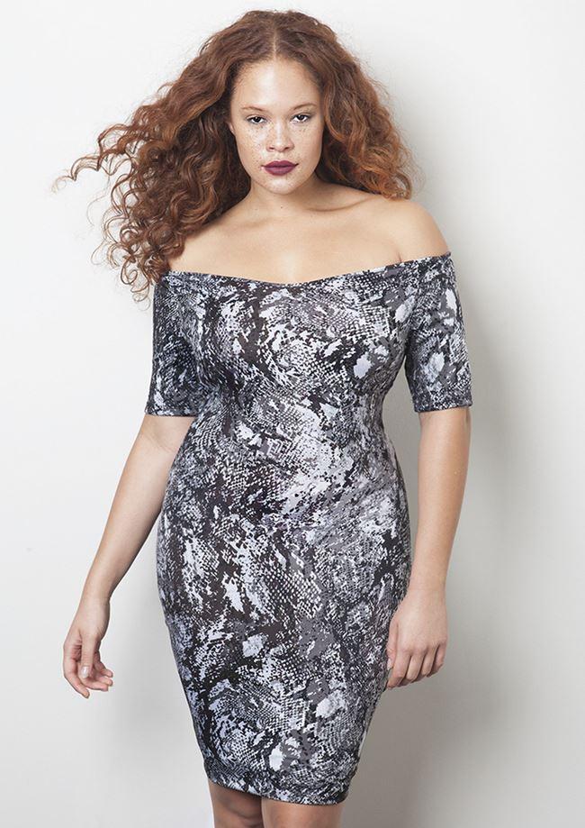 RebDolls платье коктейльное для полных 2014-2014