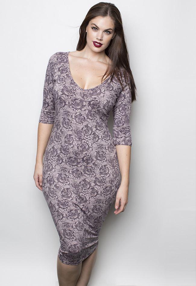 RebDolls повседневное платье для полных 2014-2014