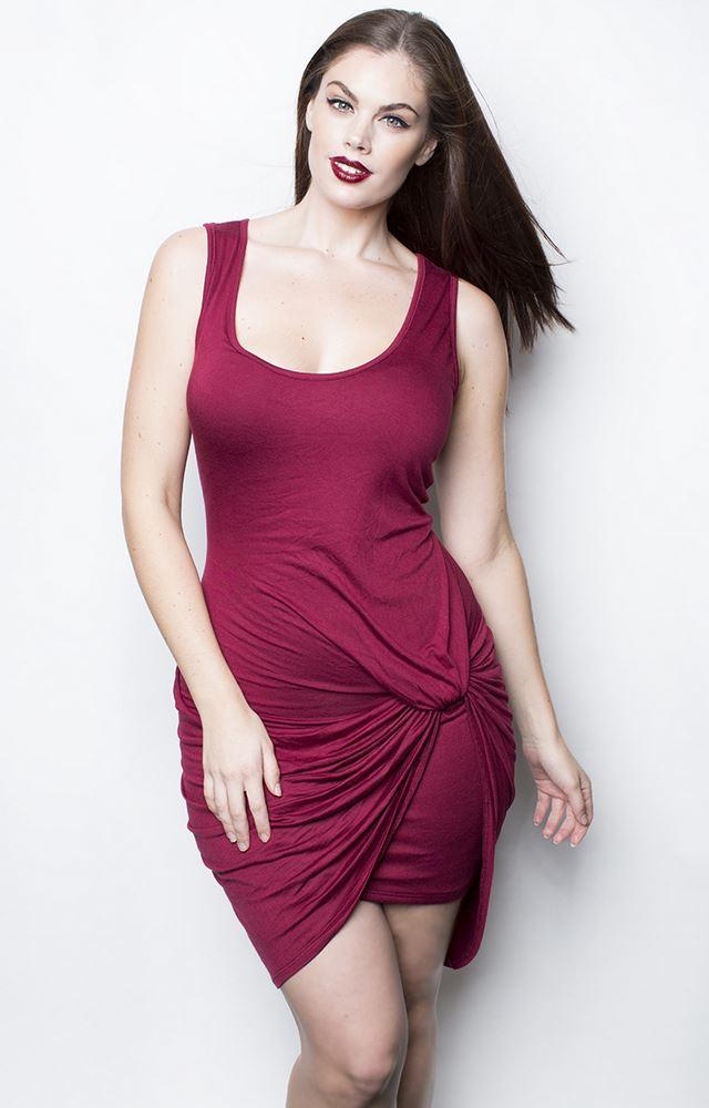 RebDolls платье из тонкого трикотажа для полных 2014-2014