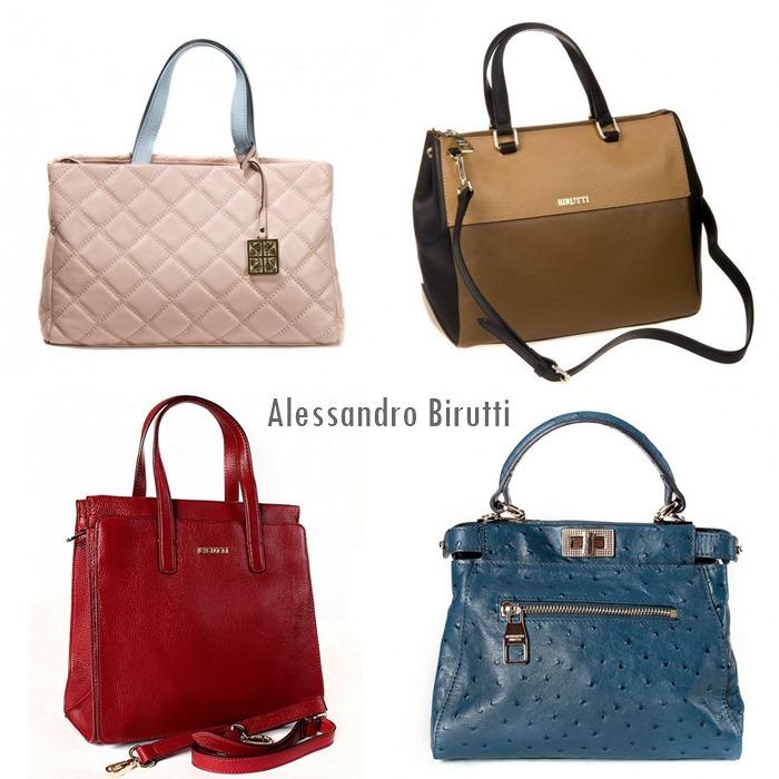классические сумки в деловом стиле alessandro birutti